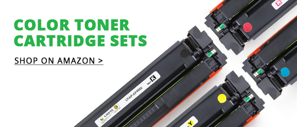 Color Toner Cartridges Set