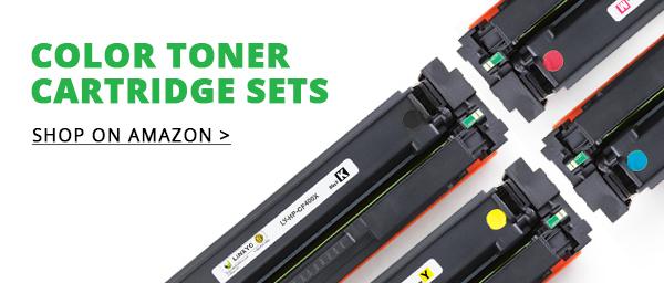 LINKYO Color Toner Cartridges Set