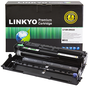 1-Pack LINKYO Replacement Drum Unit Set for Brother DR820